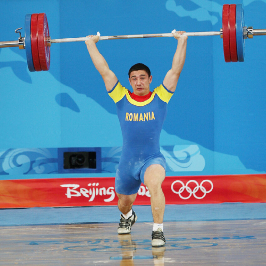 Răzvan Martin, în plin efort, la stilul aruncat Foto: Guliver/GettyImages