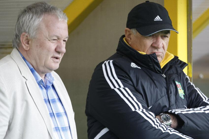 Adrian Porumboiu şi Viorel Hizo pregătesc tactica pentru Liga Campionilor