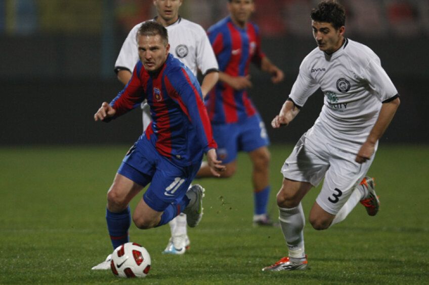 Onofraş a marcat doar de două ori pentru Steaua în acest sezon