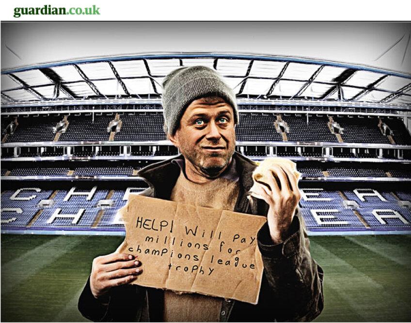 Roman Abramovici e ironizat de ziariştii de la The Guardian