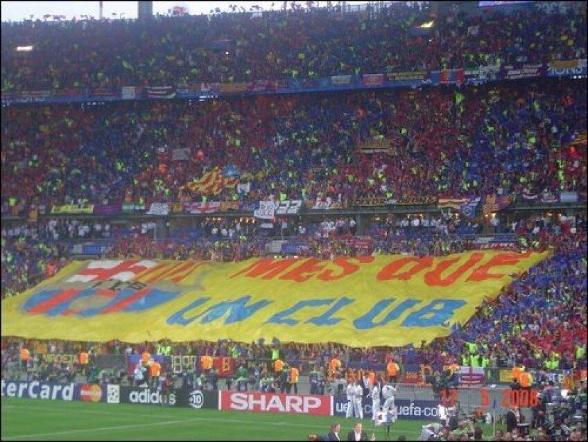 Fanii activi ai Barcelonei, premiaţi de club