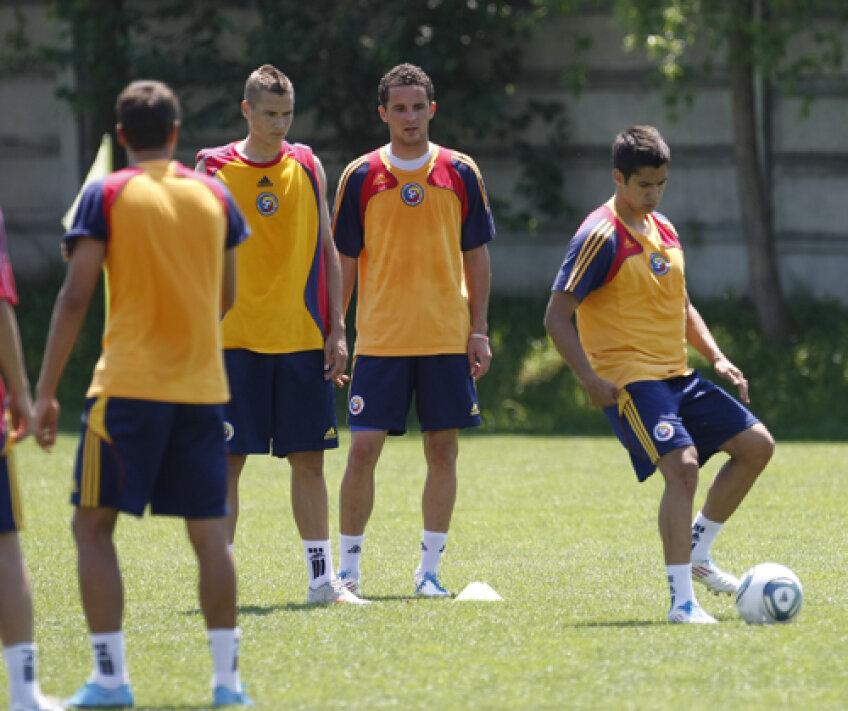 Antrenament al naţionalei de tineret a României
