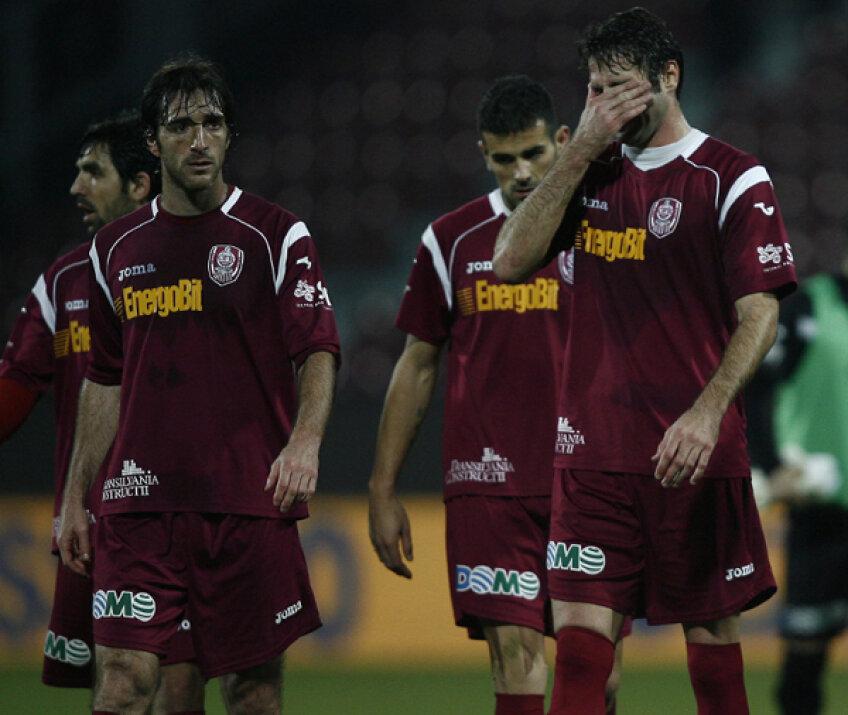 CFR-ul a avut un sezon mai mult decît dezamăgitor, terminînd stagiunea în spatele lui U. Cluj