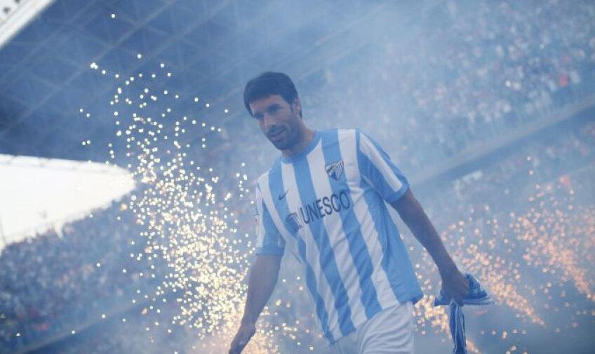 Van Nistelrooy a fost primit cu urale de fanii luiMalaga