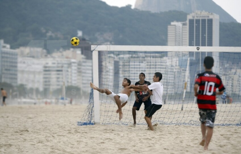 Fotbalul e fascinant la Rio