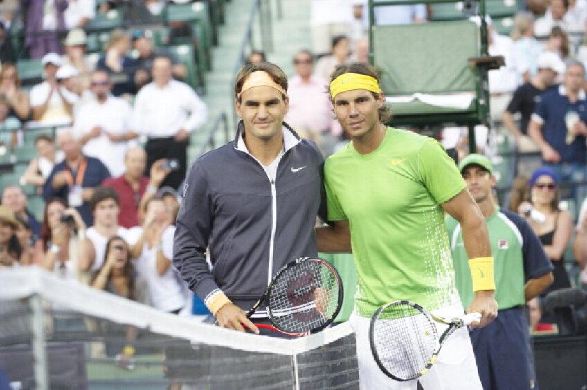 Rafael Nadal şi Roger Federer se întîlnesc în finala de la Roland Garros