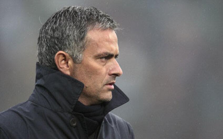 Jose Mourinho, antrenorul madrilenilor