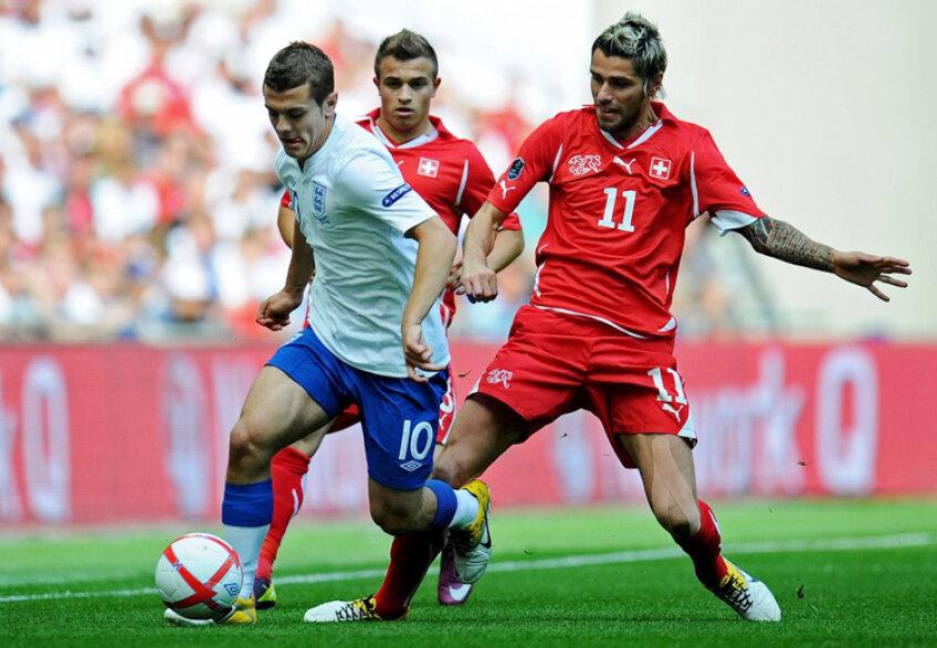 Anglia a terminat la egalitate cu Elveţia, scor 2-2, pe