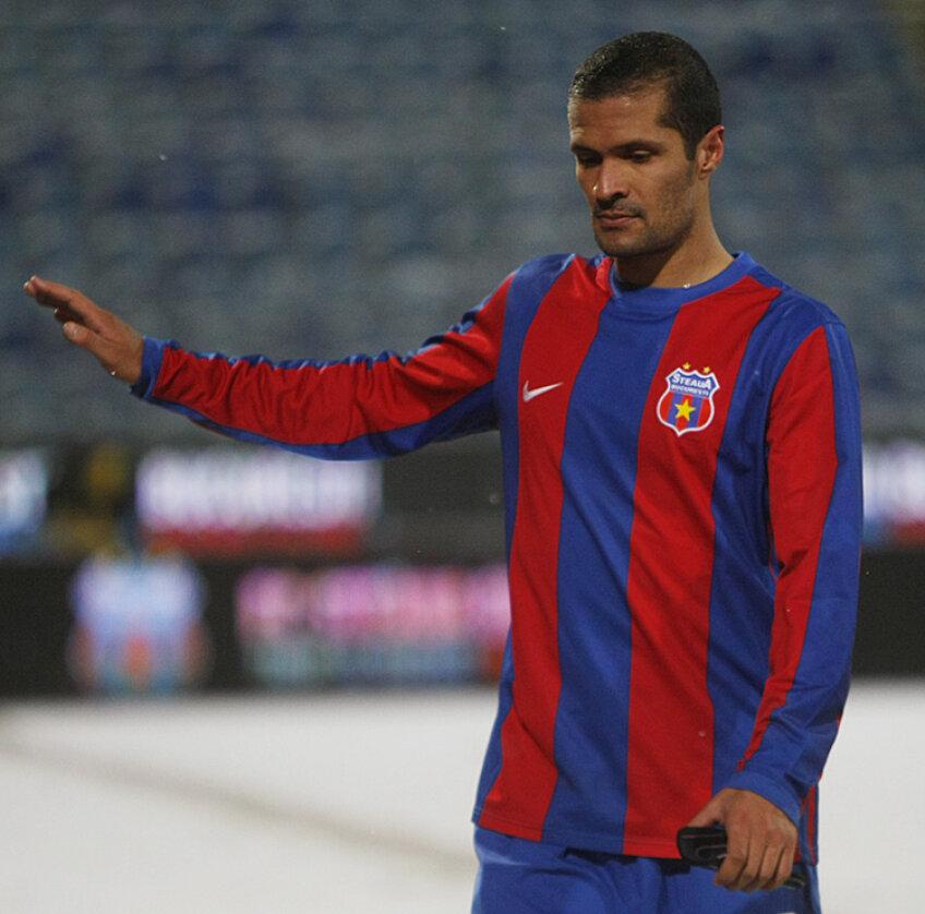 Geraldo Alves a marcat două goluri în tricoul Stelei