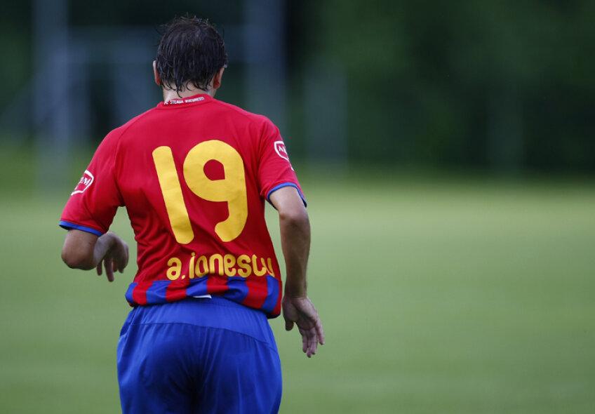 Steaua a scăpat de Andrei Ionescu