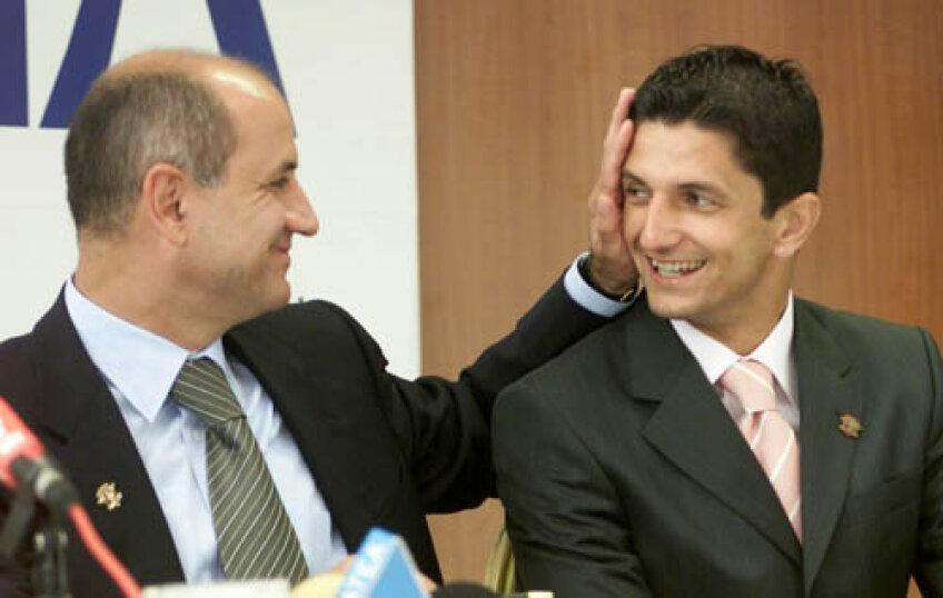 Copos spune că de data asta va colabora mult mai bine cu Lucescu Jr.