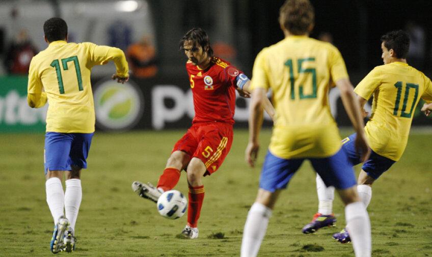 Alexa a fost al treilea jucător care a purtat banderola la meciul cu Brazilia