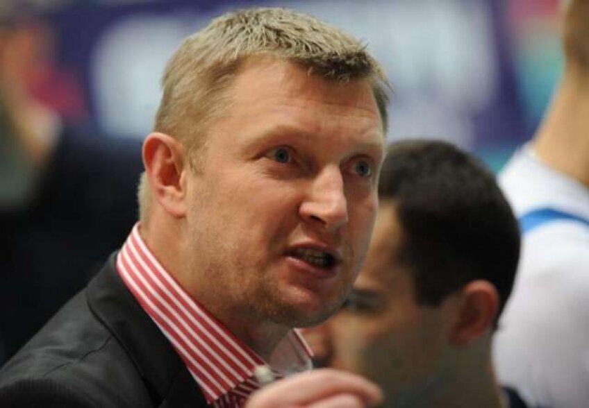 Polonezul Mariusz Sordyl este noul antrenor al campioanei Remat Zalău
