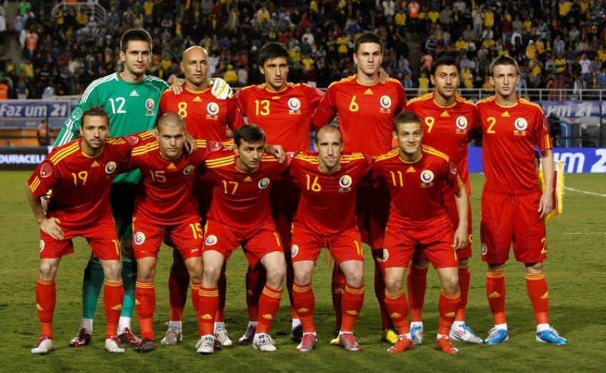 România a fost învinsă, 0-1, de selecţionata Braziliei