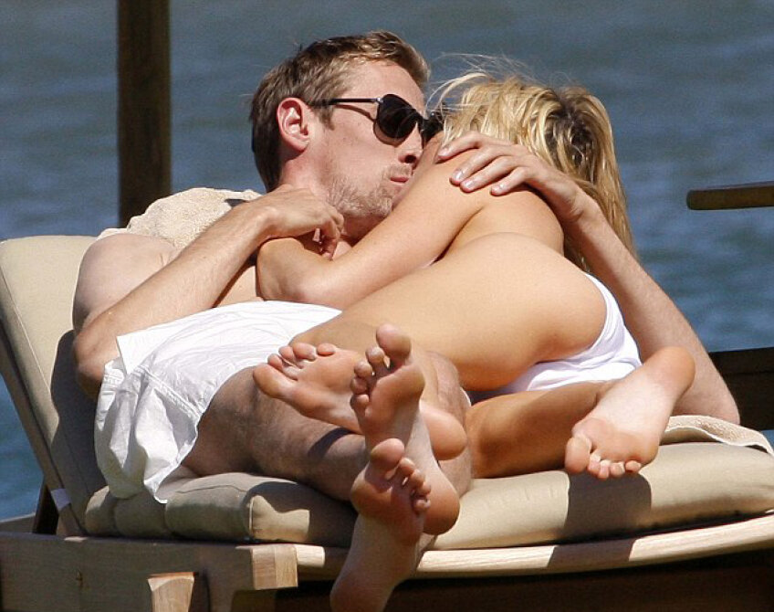 Peter Crouch şi Abbey Clancy (foto: Daily Mail)