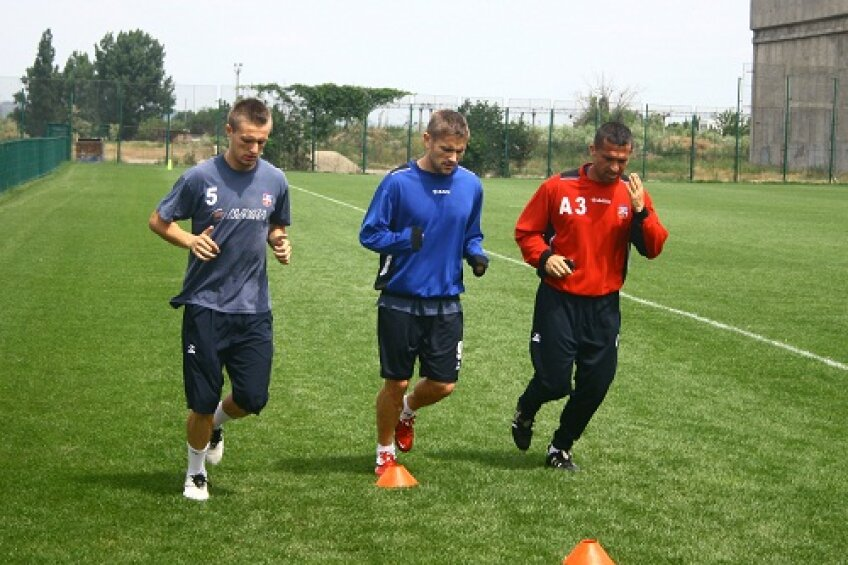 Sorin Frunză a fost suprins antrenîndu-se cu echipa lui Dorinel Munteanu