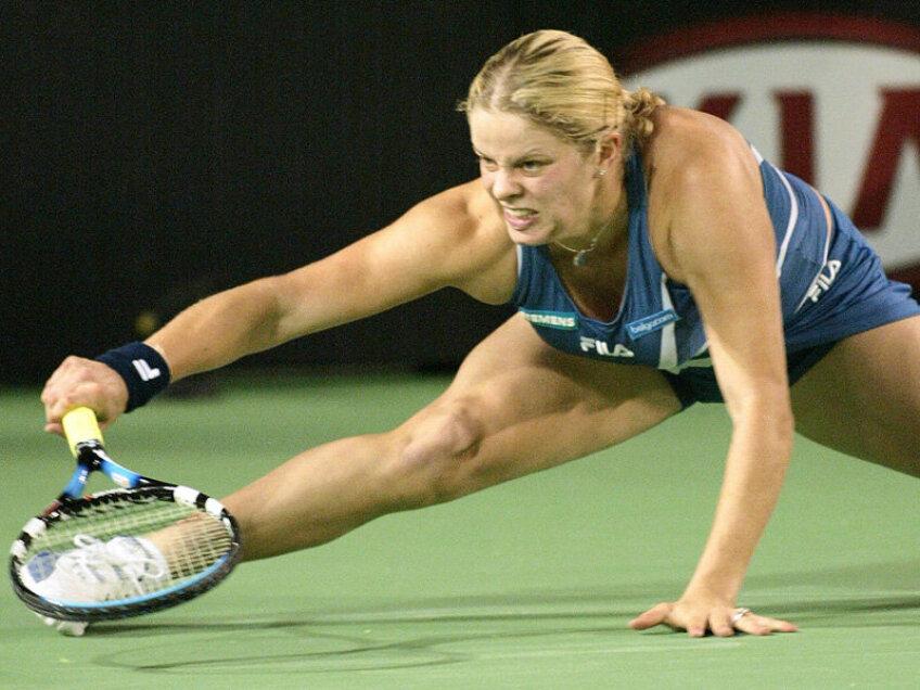 Kim Clijsters are din nou probleme la glezna dreaptă