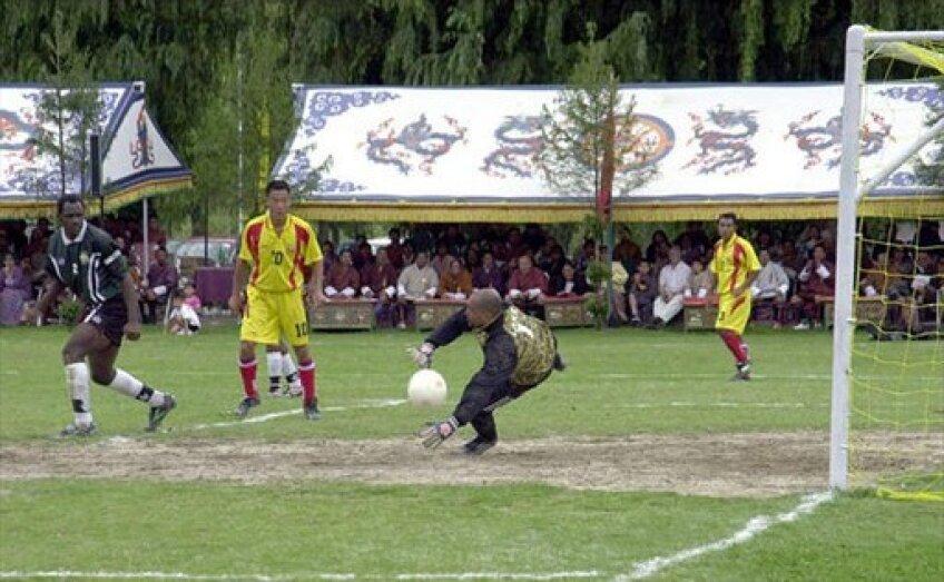 Meci al naţionalei de fotbal din Montserrat