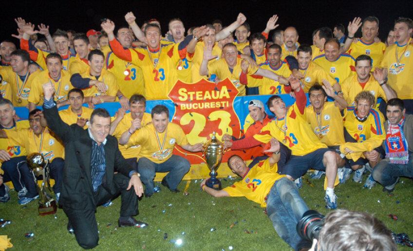 Steaua a cîştigat în 2006 ultimul titlu de campioană din istoria clubului