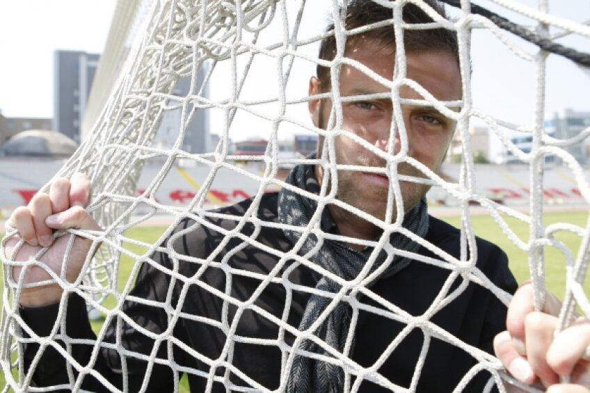 Pulhac nu se antrenează momentan cu Dinamo, fiind sub contract cu Hercules pînă la finalul acestei luni Foto: Cristi Preda