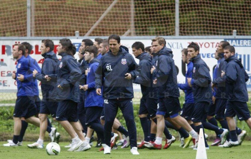 Antrenament Steaua Bad Gastein (18 iunie 2011)