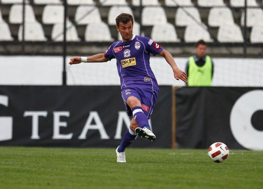 Ovidiu Burcă a bifat 20 de partide în tricoul Timişoarei sezonul trecut
