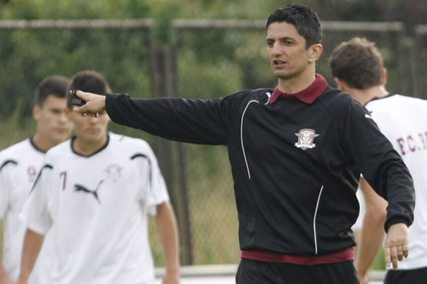 Răzvan Lucescu, antrenorul Rapidului