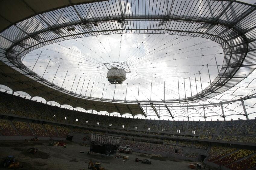 Aşa arată stadionul National Arena pe data de 17 iunie 2011