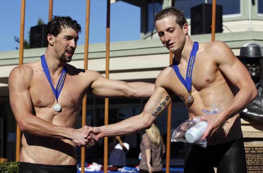 Michael Phelps a fost pierdut cursa de 200 m fluture foto: reuters