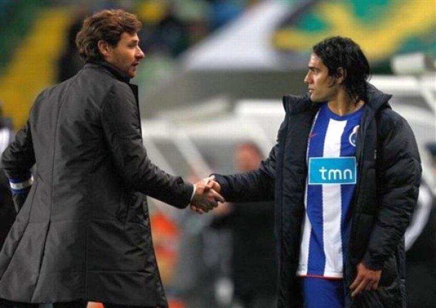 Villas-Boas îl va antrena pe Falcao şi la Chelsea