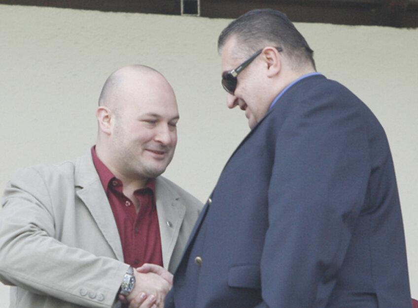 Marian Iancu, în dialog cu patronul CFR-ului, Arpad Paszkany