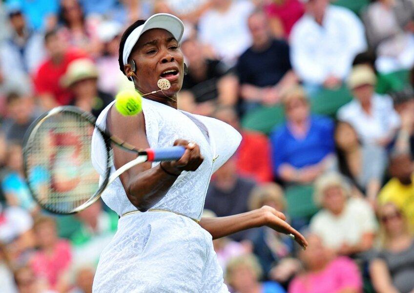Venus Williams şi echipamentul său inedit Foto: daylife.com