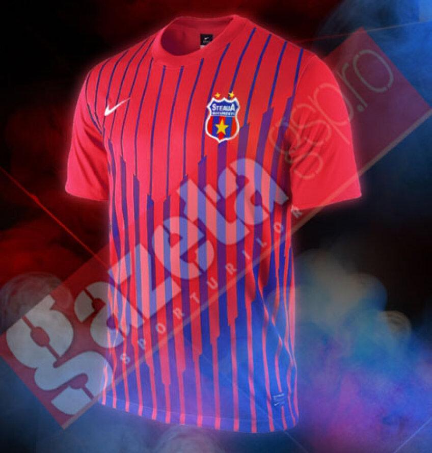 Tricoul echipei Steaua pentru 2011-2012