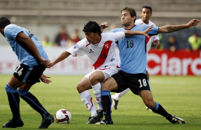 Daniel Chavez Castillo a jucat 10 partide pentru naţionala Peru