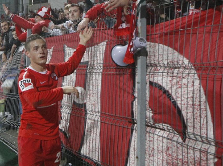 Torje a venit la Dinamo în iarna lui 2008 pentru 2 milioane de euro