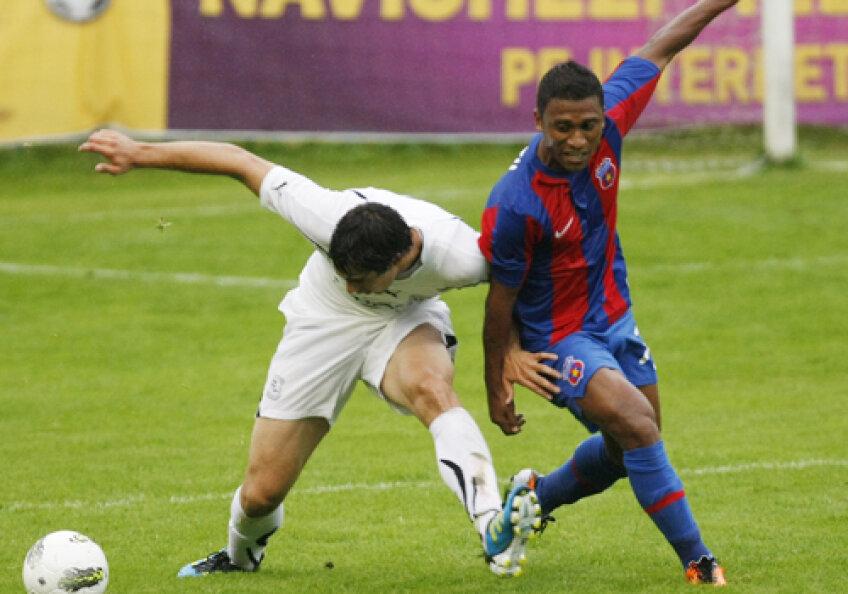 Leandro Tatu a marcat primul său gol în tricoul Stelei în amicalul cu Zestafoni