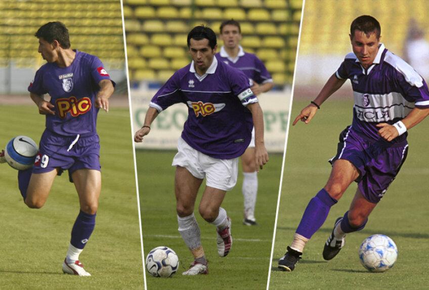 Ciprian Tănasă, Dică şi Neagă au debutat în liga 1 la FC Argeş
