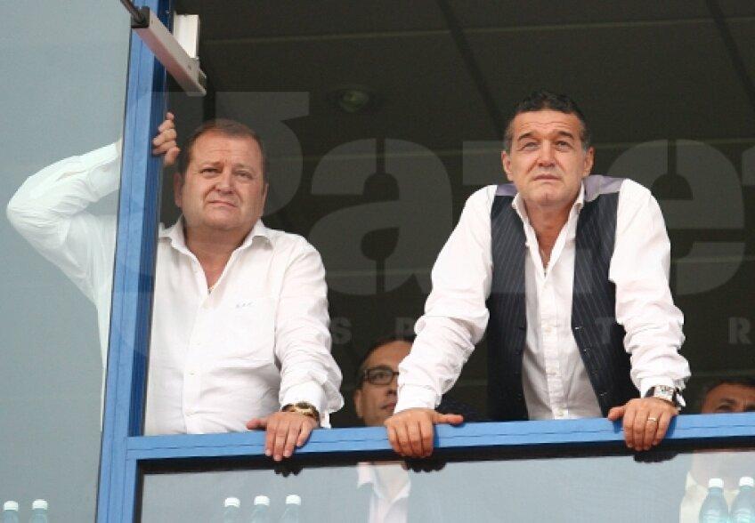 Virgil Becali şi Gigi Becali