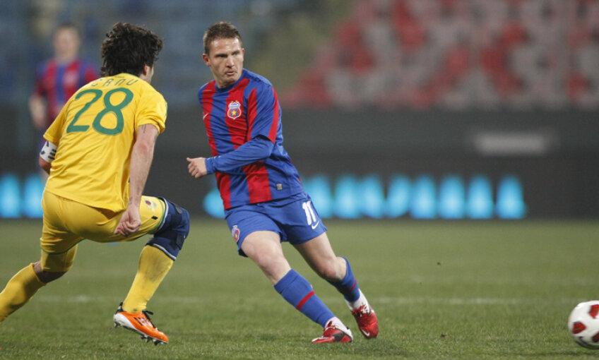 Marius Onofraş a marcat două goluri în 13 partide în tricoul Stelei