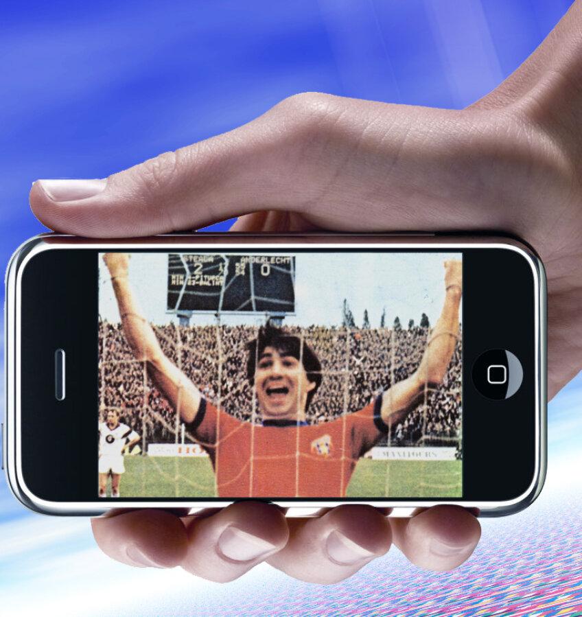 Aceasta este poza pe care Piţurcă o are pe telefonul său