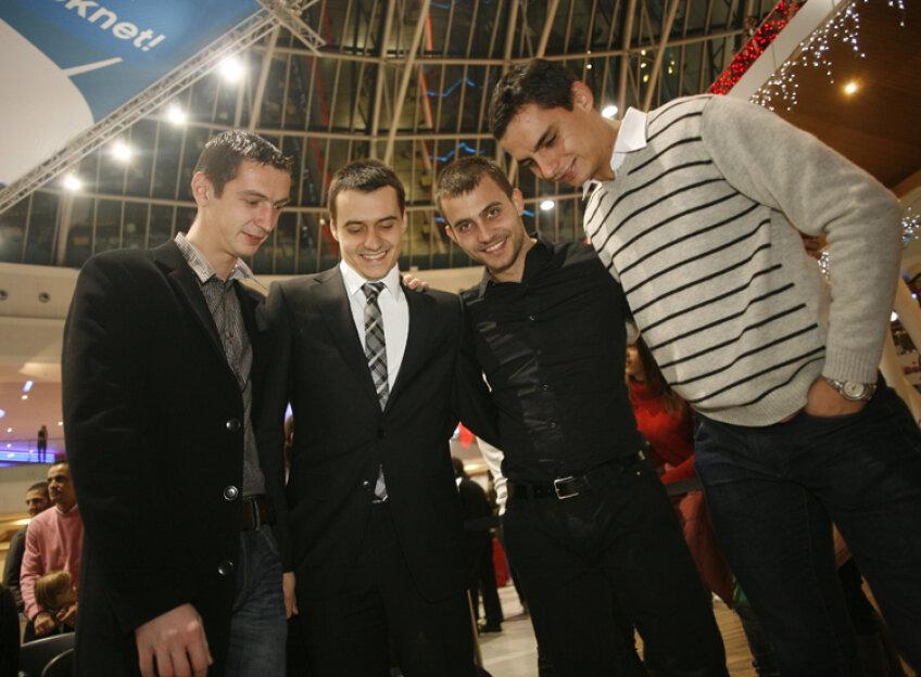 Echipa masculină de sabie a României