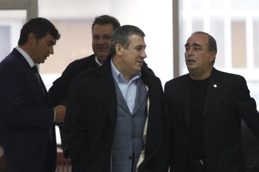 Gigi Neţoiu, alături de Victor Becali şi Cristi Borcea