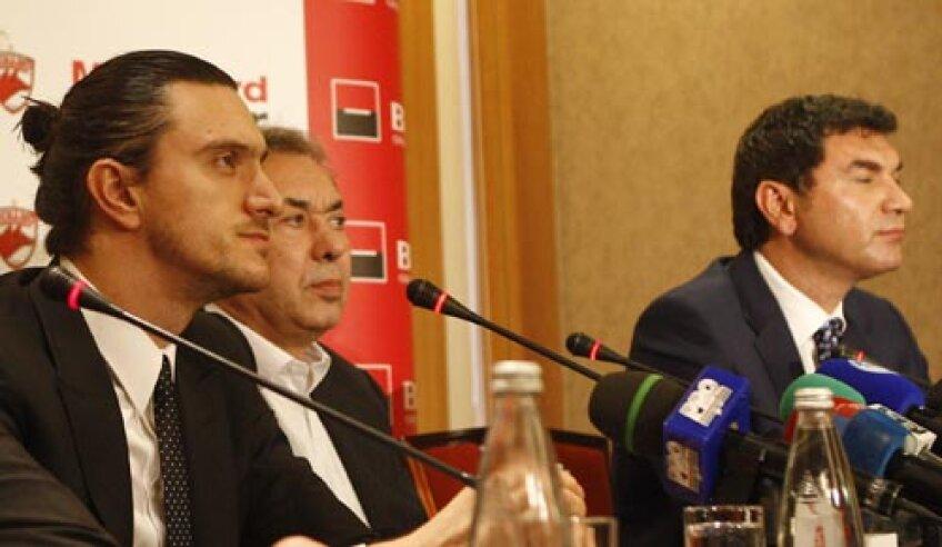 Între cei trei mari acţionari ai lui Dinamo pare a se crea o ruptură