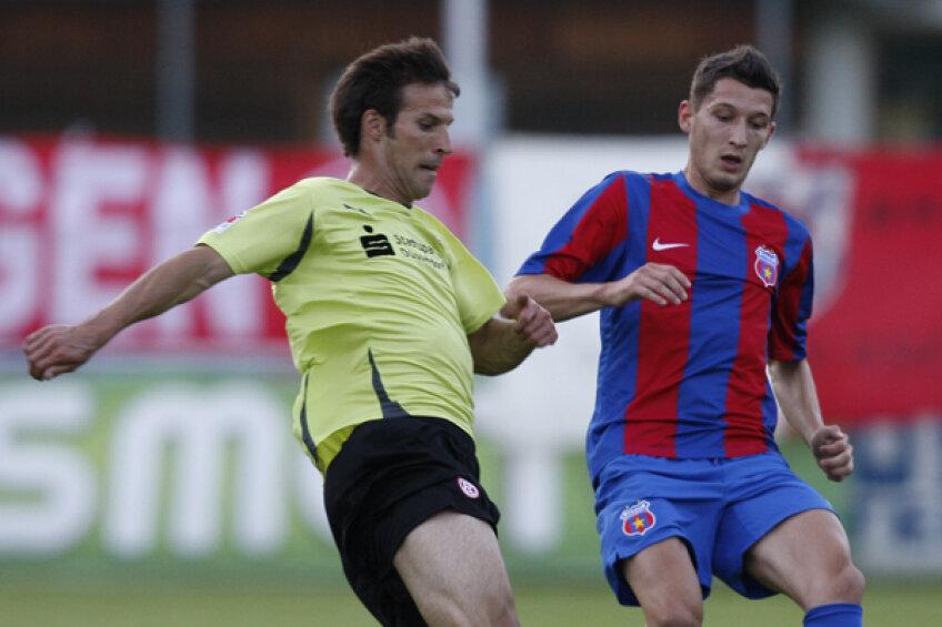 Mihai Costea a jucat numai 35 de minute în amicalul cu Dusseldorf
