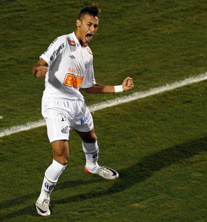 Neymar este unul dintre cei mai talentaţi fotbalişti ai momentului Foto: daylife.com
