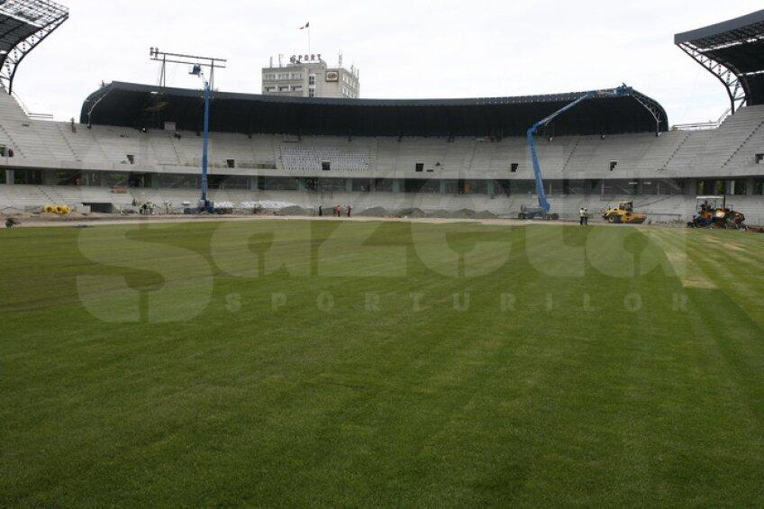 Stadionul din Cluj este proiectat să îndeplinească toate condiţiile unei arene din categoria Elite