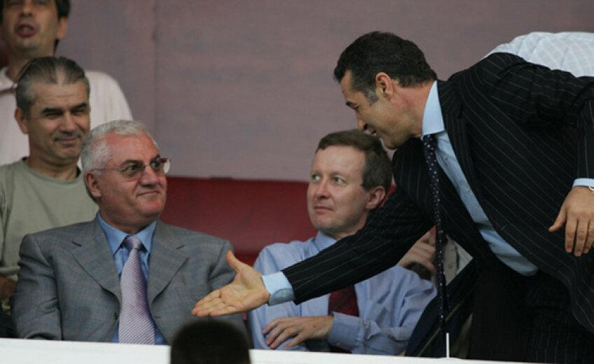 Dumitru Dragomir, pe vremea cînd nu era certat cu Gigi Becali