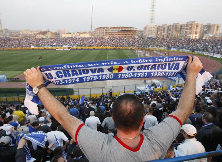 Suporterii Craiovei sînt alături de echipă, indiferent de situaţia în care se află