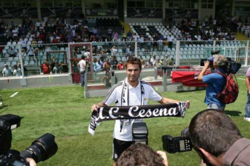 Mutu a ajuns gratis la Cesena