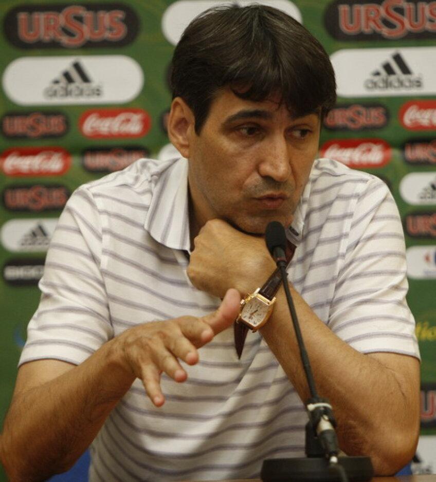 Victor Piturca, selecţioner România